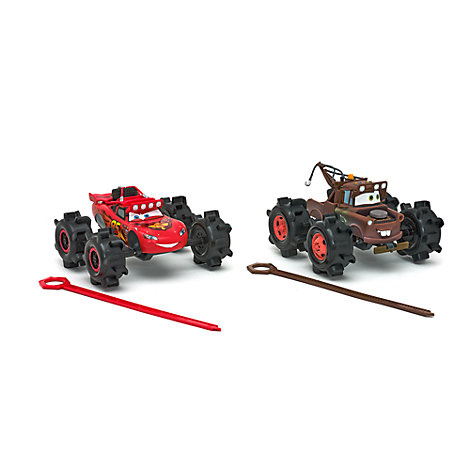 Disney Pixar Cars Lightning McQueen and Mater All Terrain Vehicles
