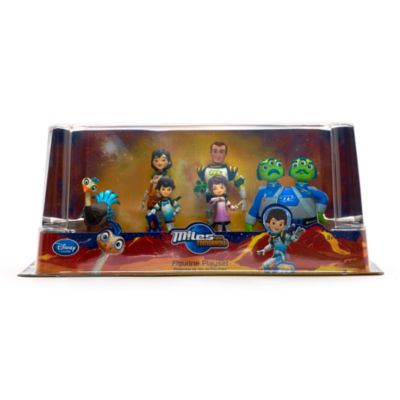 Miles From Tomorrow Figure Set