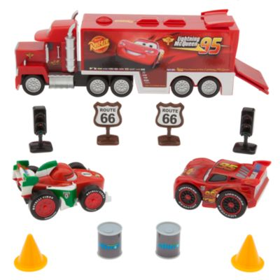 Disney Pixar Cars - Set mit Spielmatte und Autos