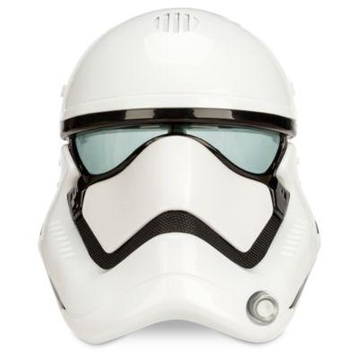 Maschera soldato delle Truppe d'assalto del Primo Ordine di Star Wars con cambio di voce
