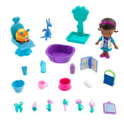 Ensemble vétérinaire de mini figurines Docteur La Peluche