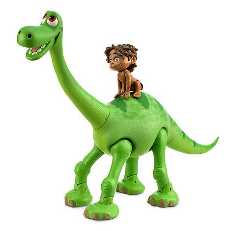 The Good Dinosaur Animated Talking Arlo with Spot