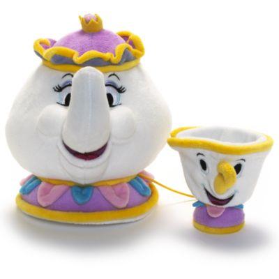 Madame Pottine und Tassilo - Kleine Stoffpuppen