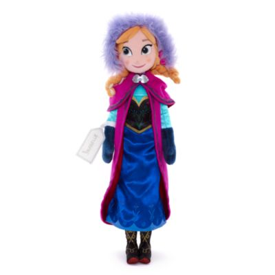 Anna From Frozen Soft Toy Doll