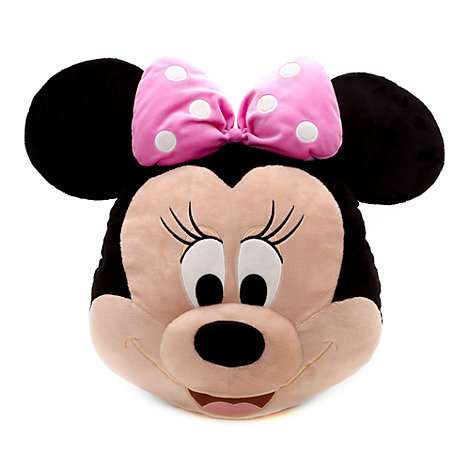 Cojín con cara Minnie