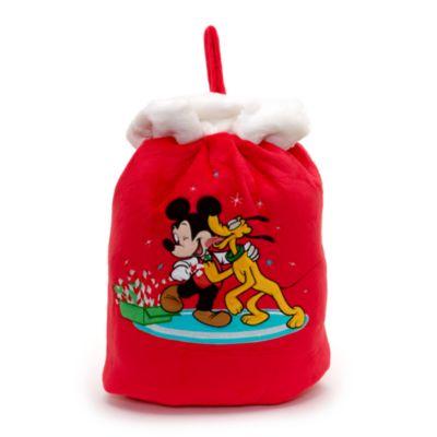 Saco Navidad Mickey Mouse y Pluto