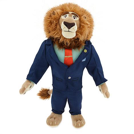 Zootropolis Mayor Lionheart Soft Toy