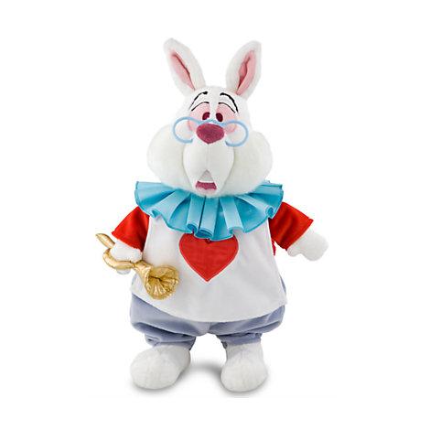 Alice im Wunderland - Weißes Kaninchen Kuscheltier (35 cm)