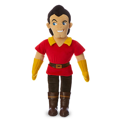 Gaston Medium Soft Toy, Beauty And The Beast