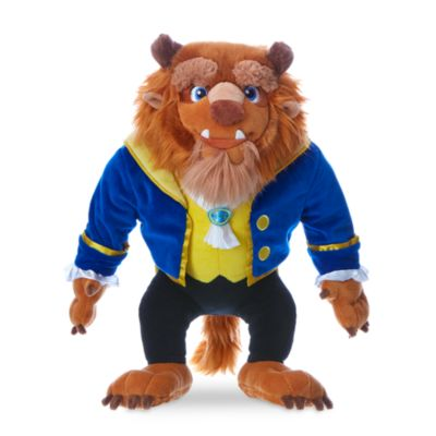 Beast Small Soft Toy, Beauty And The Beast