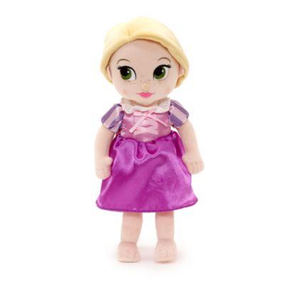 Muñeca peluche pequeña Rapunzel niña