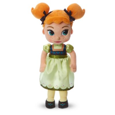 Disney Animators Collection - Die Eiskönigin - völlig unverforen - Anna Kuschelpuppe (25 cm)