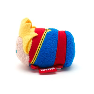 Captain Marvel Tsum Tsum Mini Soft Toy, Marvel