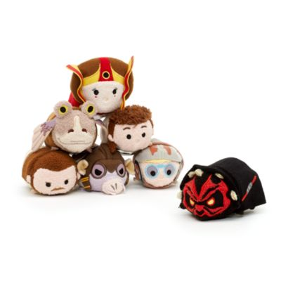 Qui-Gon Jinn Tsum Tsum Mini Soft Toy, Star Wars Episode I: The Phantom Menace