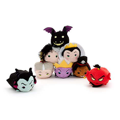 Disney Villains Mini Tsum Tsum Soft Toy Collection