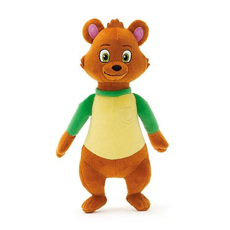 Bear Mini Bean Bag Soft Toy, Goldie & Bear