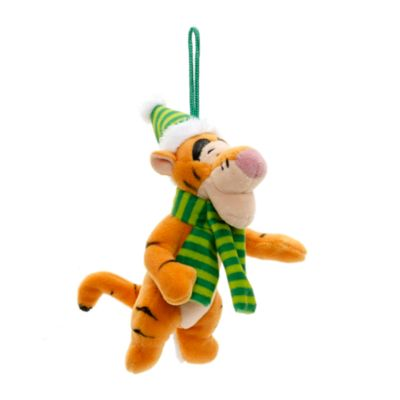 Decorazioni di peluche Winnie the Pooh e i suoi amici, set di 4