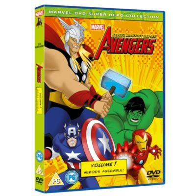 Avengers - Earth's Mightiest Heroes Volume 1 DVD