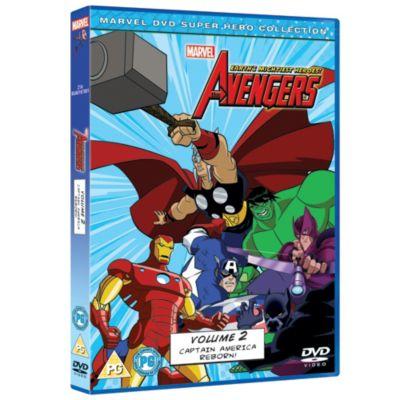 Marvel Avengers Earth's Mightiest Hero Vol 2 DVD
