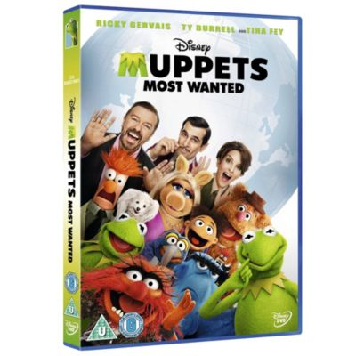 Muppets Most Wanted DVD