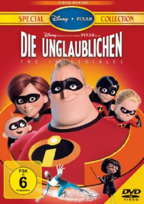 The Incredibles - Die Unglaublichen (DVD) Special Collection