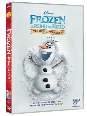 FROZEN SING-ALONG DVD SP
