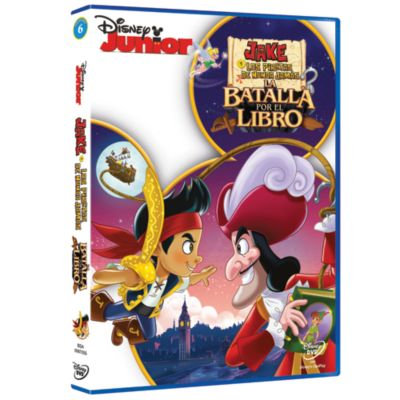 Jake y los Piratas de Nunca Jamás: La batalla por el libro DVD