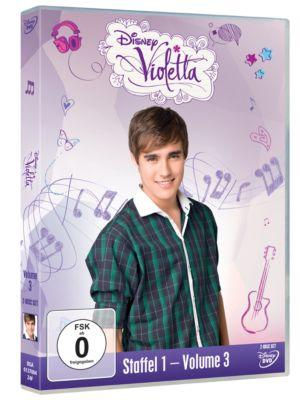 Violetta - Staffel 1, Volume 3 (DVD)