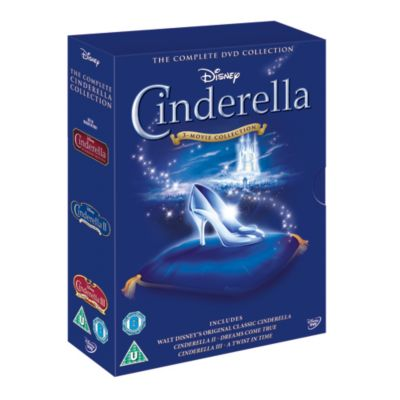 Cinderella 1, 2 & 3 DVD Box Set