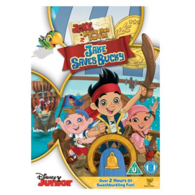 Jake and The Never Land Pirates: Jake Saves Bucky DVD