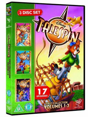Talespin Volumes 1-3 DVD