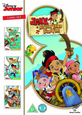 Jake and the Never Lands Pirates DVD Triple Box Set