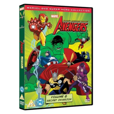 Avengers - Earth's Mightiest Heroes Volume 6 DVD