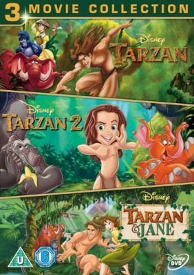 Tarzan Collection Tripack DVD