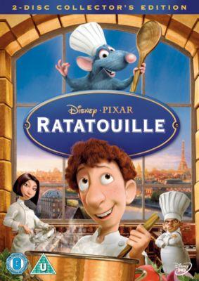RATATOUILLE  DVD UK