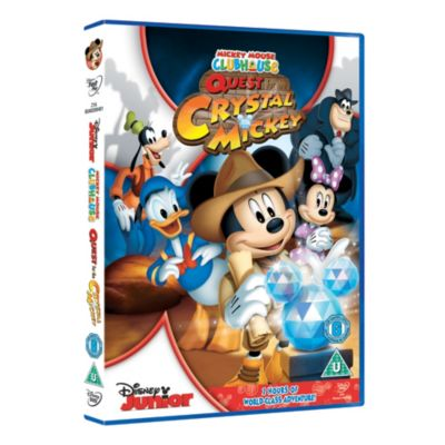Quest for the Crystal Mickey DVD