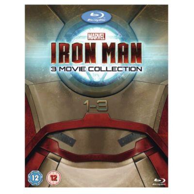 Iron Man 1 - 3 Box Set Blu-ray