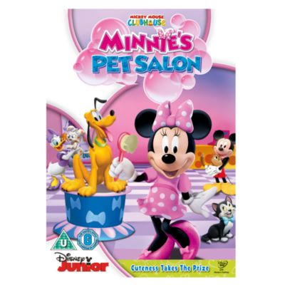 Minnie's Pet Salon DVD