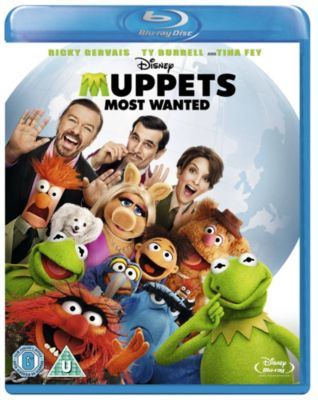 Muppets Most Wanted Blu-ray