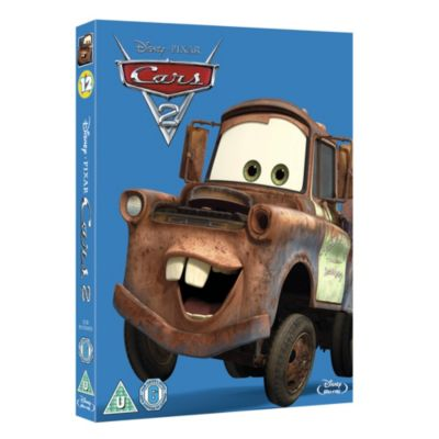 Disney Pixar Cars 2 Blu-ray