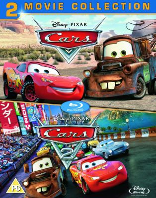 Disney Pixar Cars Blu-ray Box Set