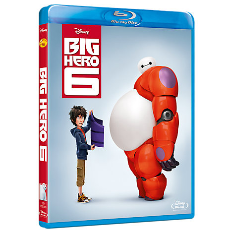 Big Hero 6 Blu-ray