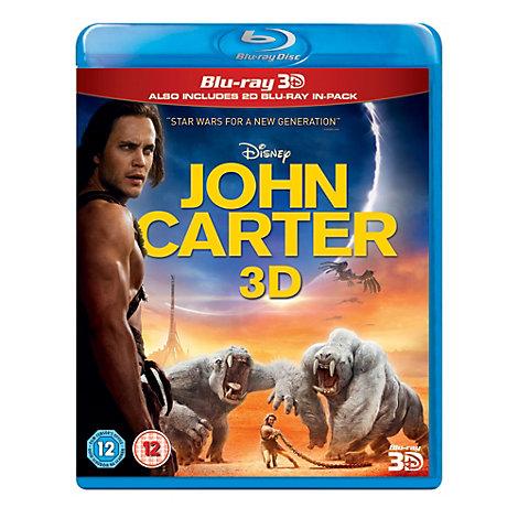 John Carter of Mars 3D Blu-ray