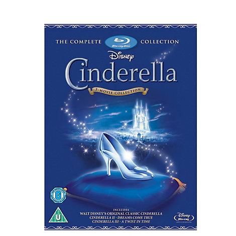 Cinderella 1, 2 & 3 Box Blu-ray Set