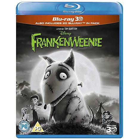 Frankenweenie 3D Blu-ray