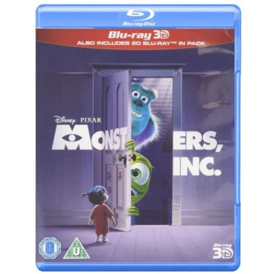 Monsters Inc. 3D Blu-ray