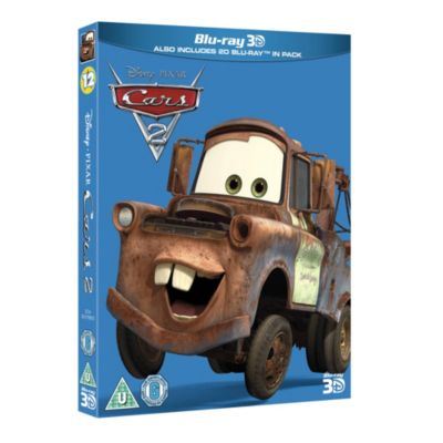 Disney Pixar Cars 2 3D Blu-ray