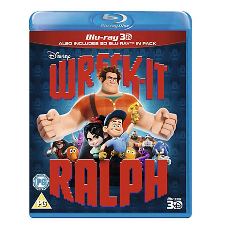 Wreck It Ralph 3D Blu-ray