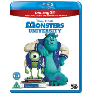 Monsters University 3D Blu-ray