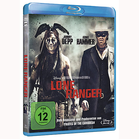 Lone Ranger (Blu-ray)